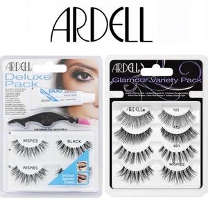 Ardell lashes wispies & variety pack